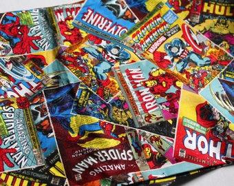 Destash Fabric, Marvel Comic Books | thor | hulk | captain america | iron man | spider man | spider-man