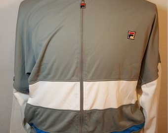FREE  SHIPPING  Vintage Fila Warm up Jacket