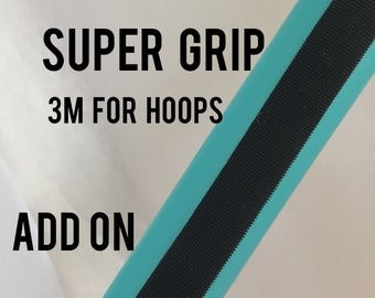 Add 3M Black Grip tape to your DanceHoops Hula hoop - Not Sold Separately