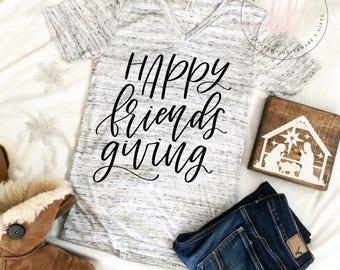 Happy Friendsgiving SVG - Happy Friendsgiving - Friendsgiving