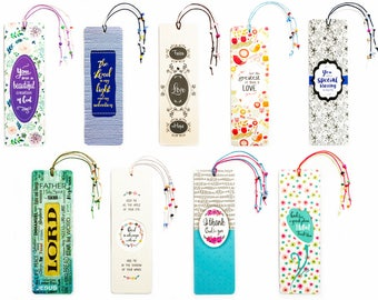 15% discount for set of 9 bookmarks You pay only 1.68 USD instead of 1.98 USD for 1 pc Christian Gift