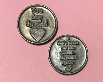 You Are Special Pocket Token, Pocket Coin, Adoption, Foster Parents, Foster Child, Foster Care, Foster Child Gift, Foster Children, Adopted