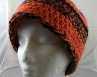 Orange and Black Beanie (large) (SWG-HBEN-L02)