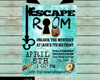 Escape room puzzle Etsy