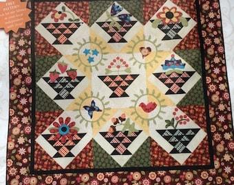 """Georgia Quilt Kit & Pattern 57"""" square (145cm square)"""