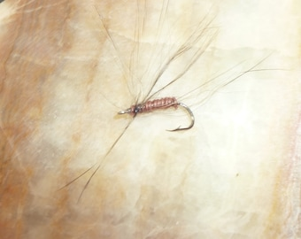 flying hair fishing fly