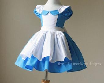 Alice in Wonderland Costume - Alice Costume - Alice in Wonderland - ALice in OneDerland - White Rabbit - Alice in Wonderland Costume
