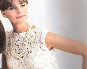 DRESS - Crochet Shift Dress Pattern