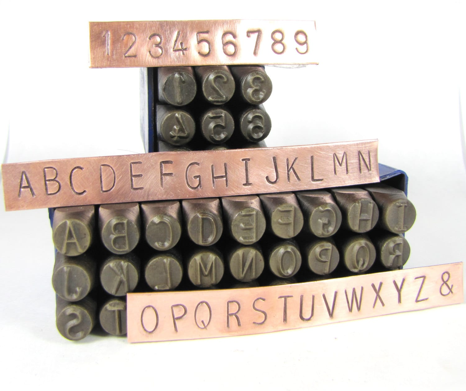 Metal Letters And Numbers Interesting Huge 8Mm 516 Metal Alphabet Stamps Letters Numbers For Hand Decorating Design