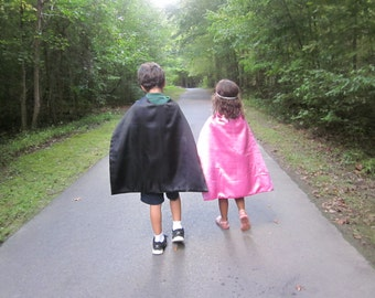 Kid Superhero Capes , Party Favors, Birthday gifts,  Ready to ship