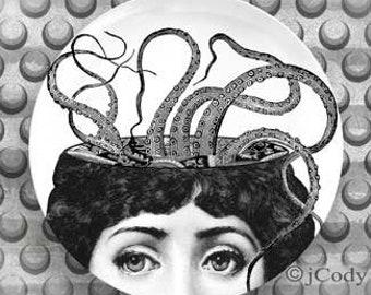 Lina Cavalieri Octopus 4 plate