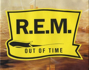 R.E.M. / Out Of Time / Full Length CD / Vintage 1991 / Losing My Religion - Radio Song - Shiny Happy People - Half a World Away