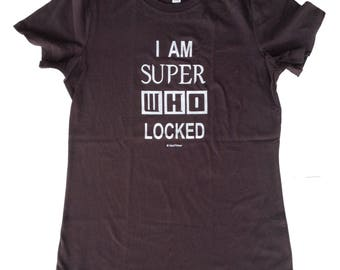 SuperWhoLock Juniors Fitted T-Shirt CLEARANCE