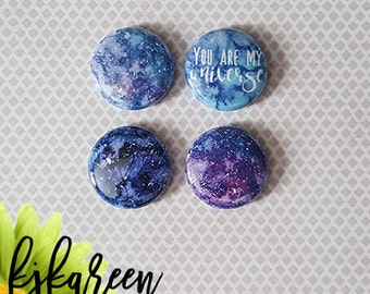 "Badge 1 ""- Galaxy"