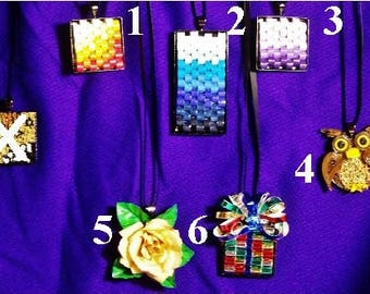 quilled necklace assortment ~ by Willowbrook Creations