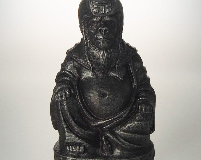 Planet of the Apes - General Ursus Buddha (Hammered Iron)