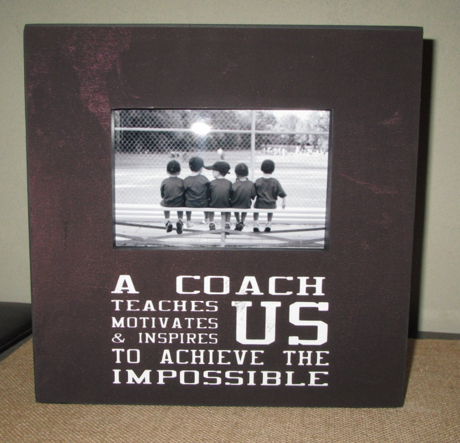 Coach gift coach frame sports team frame picture frame chalkboard 4200 jeuxipadfo Gallery
