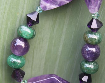 Amethyst and Green Heaven
