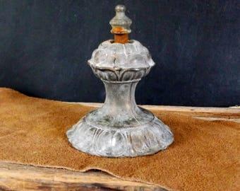 Brass Finial, Antique Vintage Finial, Antique Architectural Finial, Antique Brass Finial, Old Brass Finial