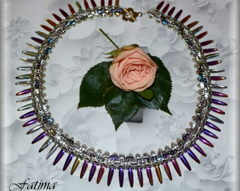 Moonlight Pattern for this Classy Award Winner Necklace