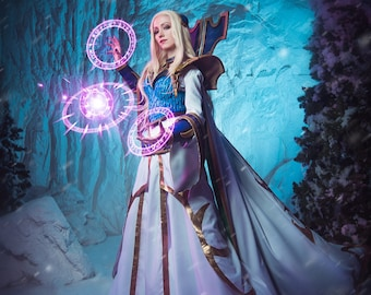 Magna Aegwynn cosplay print. Phooshoot inspired by Warcraft.
