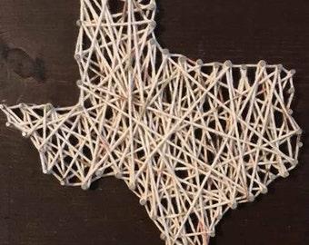 Texas Nail String Art