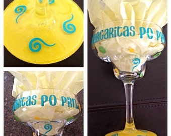 Margarita - Nurse Margarita Glass - Custom Margarita - Personalized Margarita Glass - Doctor Margarita Glass - Mommy Margarita -Fiesta Glass