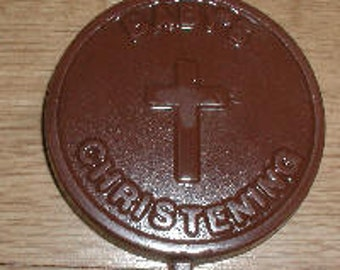 Baby's Christening  Lolly Chocolate Mold