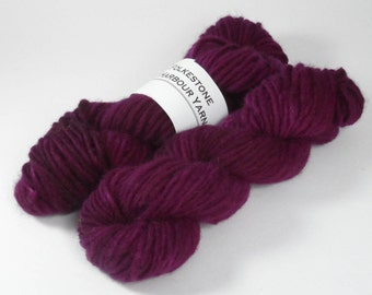 Royal Purple Semi Solid Chunky Pure Wool 50g