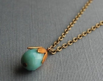 Blue Blossom Necklace