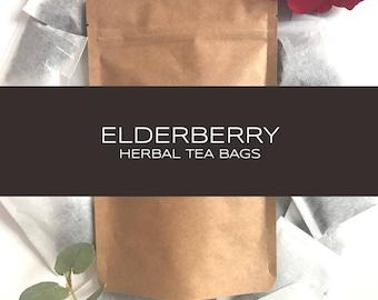 Elderberry Blend Herbal Tea Bags