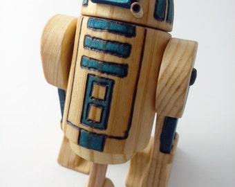 Star Wars R2-D2 - Wooden Figurine
