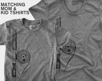 Fly Fishing - Matching Shirts (Women & Kid)