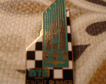 Vintage GTE Front Runner Tack Pin - Brickyard 400 - Circa Early 1990's - Excellent Condition!!
