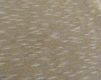 Golden chain, acrylic knit