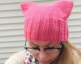 IN STOCK- Grenadine Pussy Hat
