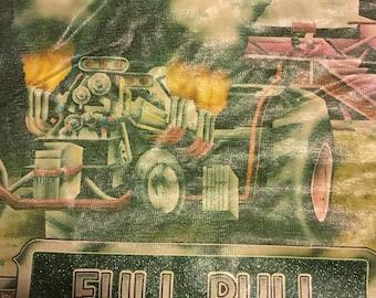 Vintage kids racecar shirt size medium