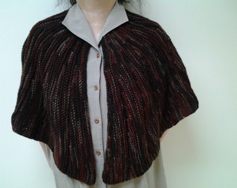 Earth Ombre Caplet with Rotate Pattern (Free Shipping)