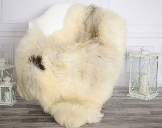 Sheepskin Rug | Real Sheepskin Rug | Shaggy Rug | Sheepskin Throw | Sheepskin Rug Beige Brown | Home Decor | #HERMAJ89