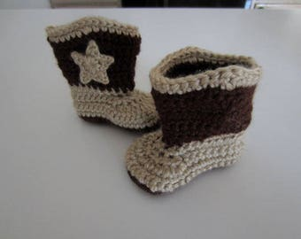 Crochet cowboy boots, knit cowboy boots, cowboyl boots, crochet cowboy boots, cowboy boots, custom made cowboy boots, booties, cowgirl boots