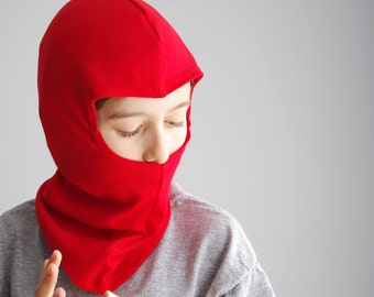 Cotton Ninja balaclava covering the mouth
