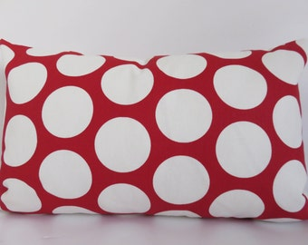 SALE!!!  Christmas Decoration - Red White Pillows - Pillows- Red Pillow Covers- White Pillows - Pillow Covers- Pillows- Red Accent Pillows