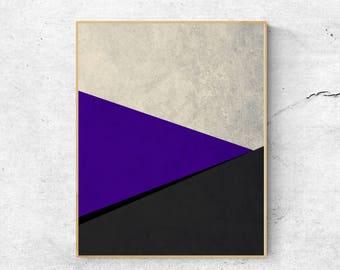 Geometric print, Abstract art print, Geometric wall art print,  Minimalist print, Abstract large wall art printable, Minimalist poster