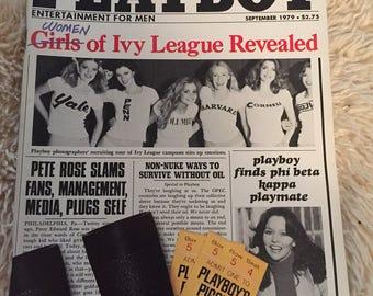 Vintage playboy magazine September 1979