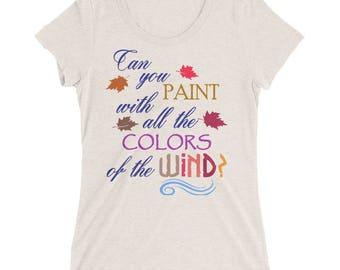 Disney Shirt, Pocahontas shirt, Pocahontas, Colors of the Wind, Disney Princess, Princess shirt, Colors of the Wind,  pocahontas