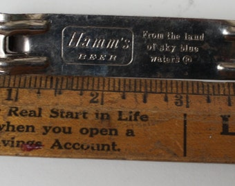 Vintage Hamms Beer Old School Bottle Opener From the Land Of Sky Blue Waters