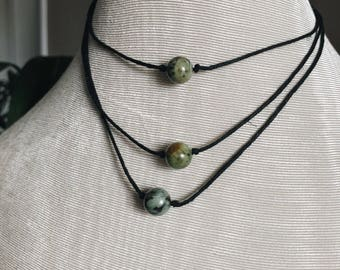 Genuine African Turquoise bead necklace