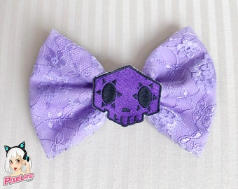 Sombra Overwatch Bow - Pastel Lavender Lace