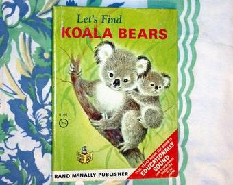 Let's Find Koalas, 1969 Rand McNally Elf Book