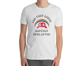 LGBT Marriage/ Gay Pride Shirt/Gay Engagement Gift